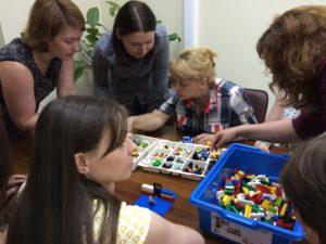 игра Лего в Сбербанке